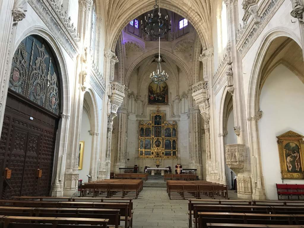 The church at Monastery of San Juan de los Reyes is wheelchair accessible.