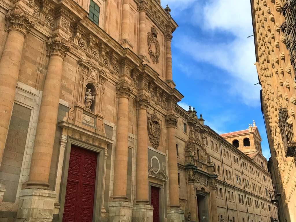 A view of the University of Salamanca.
