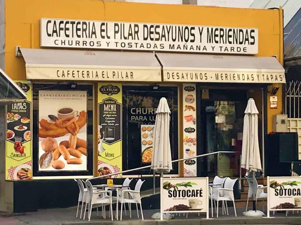 The El Pilar by Plaza España.