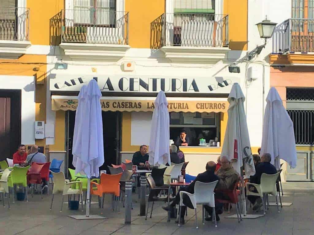 An outside view of La Centuria.