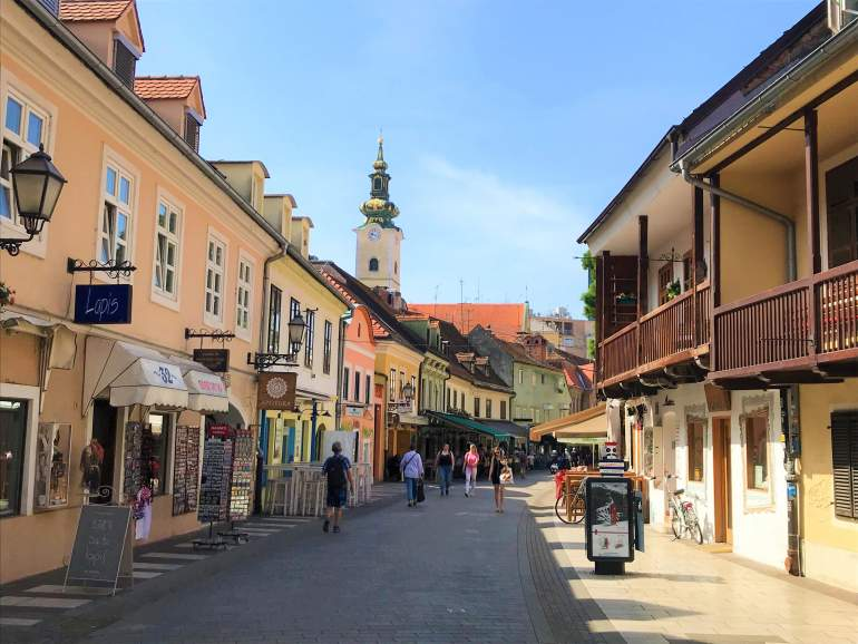 Visiting Tkalčićeva Sreet is one of the great things to do in Zagreb for dining and nightlife.