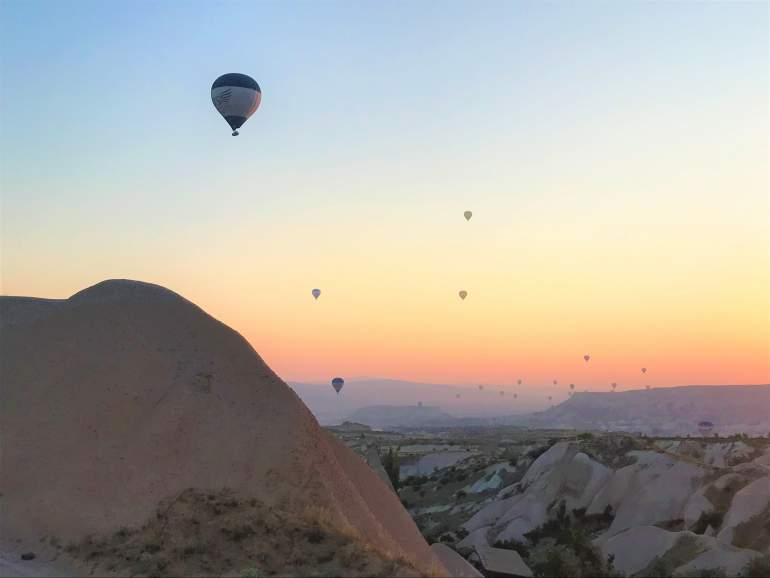 SOS: Hot Air Balloon in Cappadocia is Cancelled
