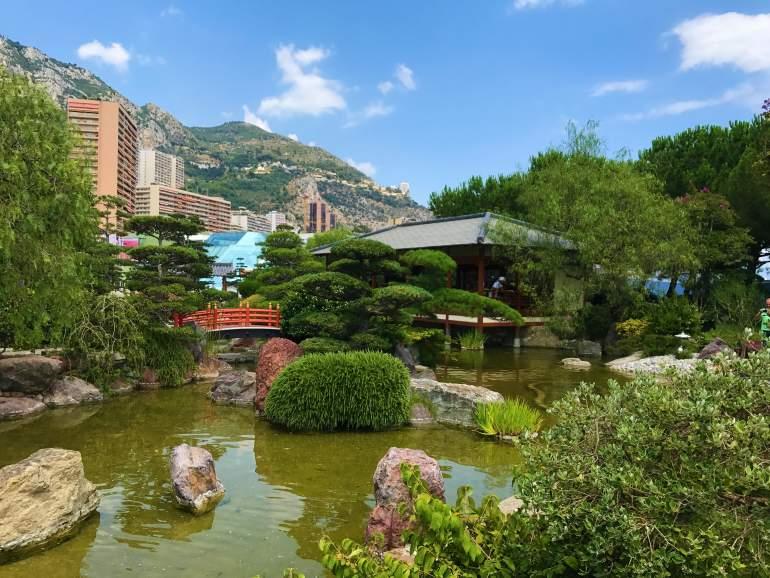 Japanese Gardens in Monaco.