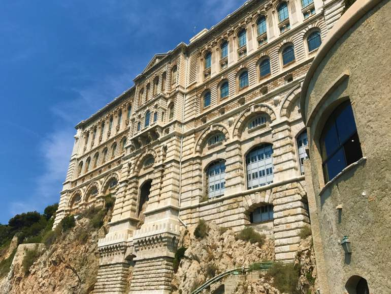 The Oceanographic Museum is an excellent thing to do with a visit to Monaco in a day.
