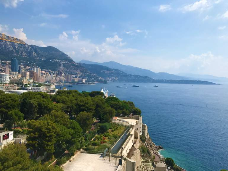 Views like these is a great thing to seek out when visiting Monaco on a budget.