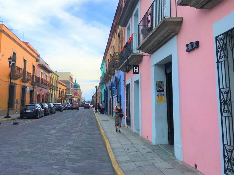 The entrance to Selina in Oaxaca.