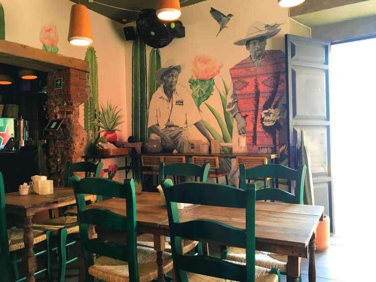 Selina Oaxaca restaurant.
