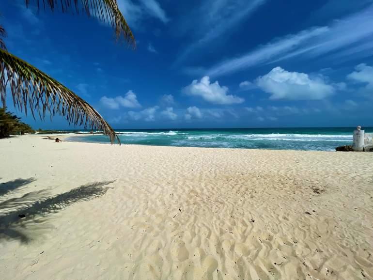 Selina Isla Mujeres beach.