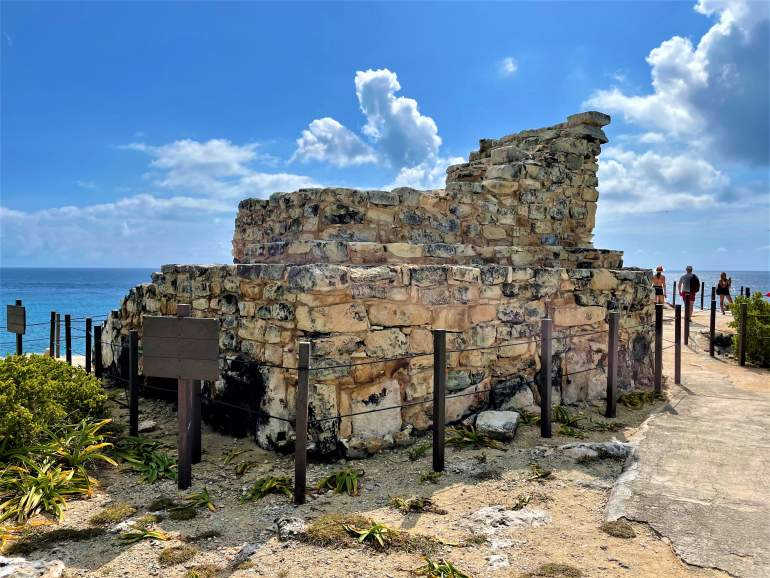 The ruins at Punta Sur, Isla Mujeres.