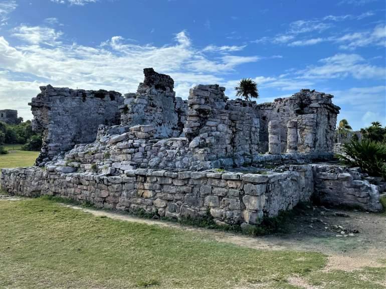 Stone ruins.