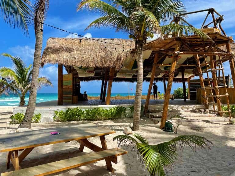 Activities center at Selina Isla Mujeres.