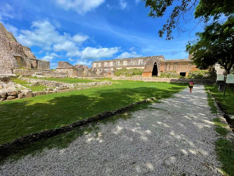 A Wheelchair User's Guide to Uxmal
