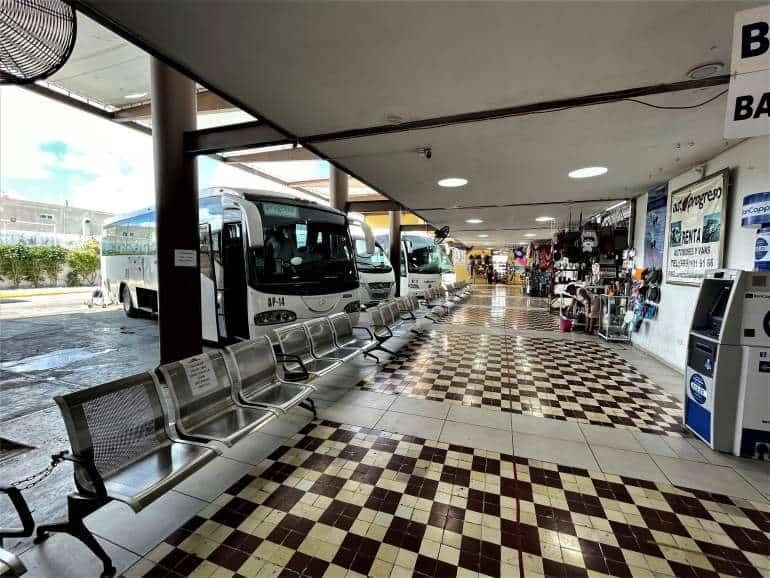 Progreso bus station.